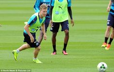 Newcastle's new signings get to work ahead of Championship season as Dwight Gayle and Matt Ritchie say Rafa Benitez was the reason they moved to St James' Park