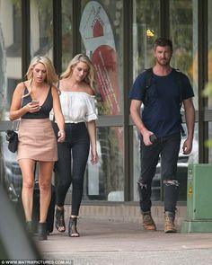 Part of the family? Nick cut a casual figure as he walked alongside Sharon and her twin si. Married At First Sight, Kangaroo Island, Twin Sisters, Denim Fashion, Twins, Couples, Casual, Style, Swag