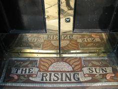 Beautiful mosaic on Tottenham Court Road, London