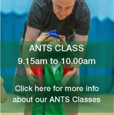 Click on the picture to find out more about our  ANTS classes!