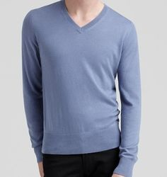 Diva-Dealz - BURBERRY Mens Cashmere Sweater only $239.99