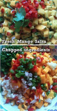 Easy Recipe: Fresh Mango Salsa   Balanced Bites   Holistic & Paleo Nutrition Education