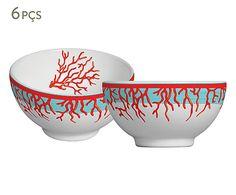 Jogo de Bowls para Sopa Coral