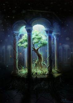 art art conceitual Fantasy Digital Art from a Mid Arte Digital Fantasy, Fantasy Kunst, Fantasy Places, Fantasy World, Fantasy City, Anime Fantasy, Fantasy House, Fantasy Monster, Fantasy Dragon