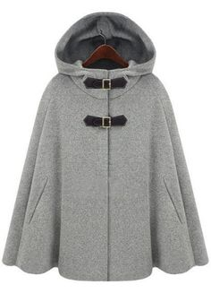Have to try this on. Is it a coat or a poncho? It won't need to be pulled over your hair. In a nice color...maybe.