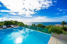 Panoramic sea views villa for sale in Cannes, Cote d'Azur, France.
