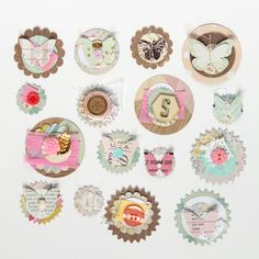 CP Minimally Made :: Notes & Things Handmade Embellishments - Crate Paper