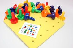 Peg Board - Occupational Therapy Curious Minds Busy Bags http://www.amazon.com/dp/B00PWG7YME/ref=cm_sw_r_pi_dp_ly18vb0GWM7N0
