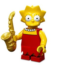 Lego Minifigures Simpsons Serie 1: Lisa Simpson