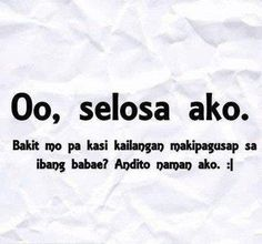 Filipino quotes about love in tagalog - Pinoy love quotes Tagalog Quotes Patama, Tagalog Quotes Hugot Funny, Memes Tagalog, Tagalog Words, Filipino Quotes, Pinoy Quotes, Filipino Funny, Tagalog Love Quotes, Pick Up Lines Tagalog