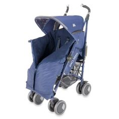 Maclaren® Universal Expandable Footmuff - Crown Blue - buybuyBaby.com  $120