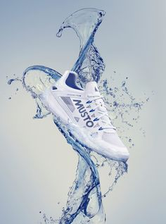 Sea-Sure Shoe. on Behance Ad Photography, Advertising Photography, Commercial Photography, Fashion Photography, Shoe Advertising, Sports Advertising, Sailing Shoes, Nike Shoes Blue, Lookbook Design