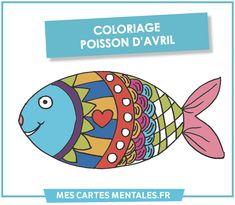 Les cartes mentales - poisson d'avril April Fools, France, Beautiful Fish, Grammar Rules, Mental Map, Tips And Tricks, How To Draw, April Fools Pranks, April Fools Day