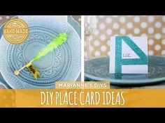 5 DIY Place Card Ideas - HGTV Handmade - YouTube
