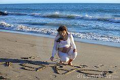Afbeeldingsresultaat voor zwanger.fotos op het strand