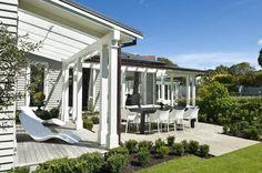 House Design by Novak + Middleton Architects #NewZealand #Green