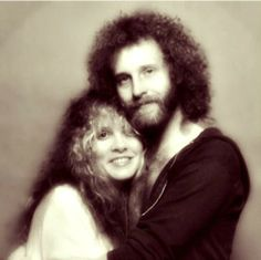 Stevie Nicks and her brother Christopher 1979