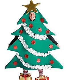 Disfraz de Árbol de Navidad.