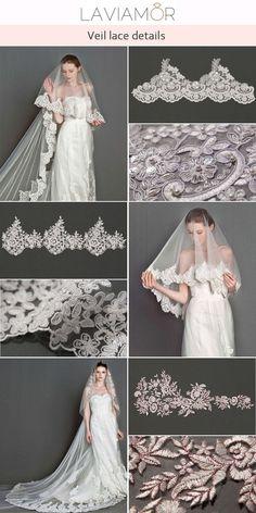 #laviamor specializes in customizing the bridal veils. Follow @laviamordesign for more ideas! ❤ #weddingphotography #luxurywedding #weddinggown #wedding #weddingdress #bridalgown #dreambride #weddinginspiration #weddingideas #wedding #bride #weddingveil #weddingveils #bridalveil #bridalveils #bridalfashion #bridalideas #bridestyle #weddingdresses #bridalideas #veilguide Luxury Wedding, Wedding Bride, Wedding Gowns, Lace Veils, Bridal Veils, Chapel Length Veil, Cathedral Wedding Veils, Bridal Style, Weddingideas