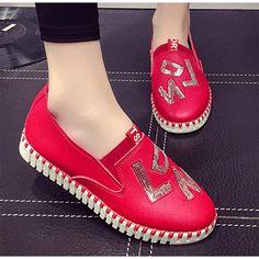 low priced 6e28f 2bdae Tienda Online Coolfar moda mujeres zapatos patente solid PU zapatos mujeres  flats nuevo estilo del verano 2016 zapatos de la princesa ballet para  casual ...