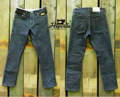 Custom Made Japanese Selvedge Denim Jeans by Hepville on Etsy