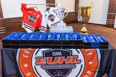 Hall of the Fame of the Year Banquet Usporadúva ho EUHL - European University Hockey Association na konci sezóny. Ice Hockey, Halle, Banquet, Banquettes, Hockey