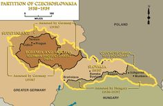 Partition of Czechoslovakia, 1938-1939