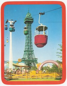 Kings Island in the 80's-This is the place to go when you made the middle school honor roll or the day after prom because Cedar Point wasn't open that early in the season.