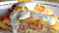 When I was eating this fantastic banana roll with my grandmother, I wanted . - When I was eating this fantastic banana roll with my grandmother, I immediately wanted a recipe fro - A Food, Good Food, Food And Drink, Yummy Food, Cookbook Recipes, Cooking Recipes, Healthy Recipes, Eastern European Recipes, Czech Recipes