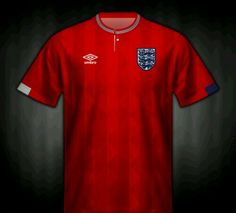 England away shirt for the 1988 European Championships.