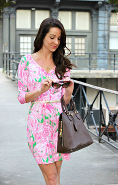 Lilly Pulitzer Palmetto Dress and Ray-Ban Giveaway