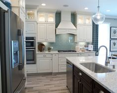 blue backsplash | Mattamy Homes
