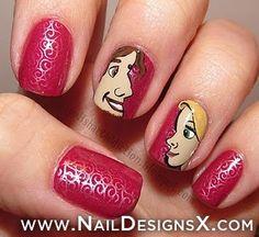 disney nail art - Nail Designs & Nail Art