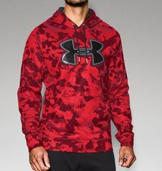 Men's UA Storm Armour® Fleece Printed Big Logo Hoodie | Under Armour US
