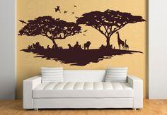 Wandtattoo savanne