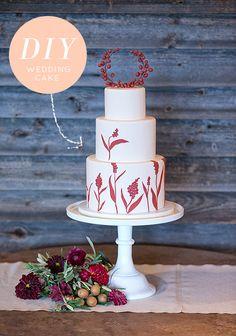 Wedding DIY: Cake