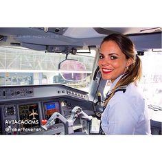 Azul Airlines Pilot Roberta