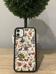 These Magical Phone Cases For All Will Add Some Pixie Dust To Your Cell Disney Phone Cases, Disney Phone Wallpaper, Iphone Hacks, Disneyland Resort, Disney World Resorts, Disney Style, Leather Case, Pixie, Electronics
