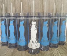 Set of 3 Personalized Bridesmaids by SmithAveDesigns on Etsy