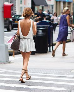backless tank and sh