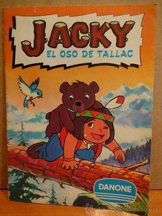 JACKY. EL OSO DE TALLAC. DANONE. SOLO FALTA EL Nº 24. BUENA CALIDAD.