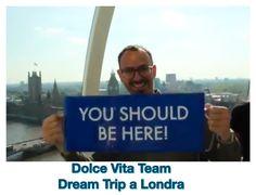 Mio amico Alberto, membro del nostro Dolce Vita Team, in DT a Londra