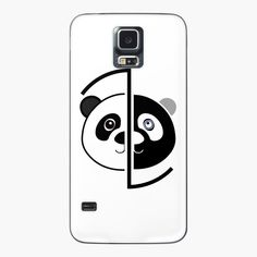 Panda Head, Samsung Galaxy S5, Vinyl Decals, Bubbles, Phone Cases, Printed, Awesome, Art, Products