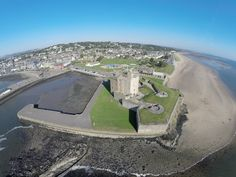 Broughty Ferry Castle aerial
