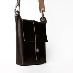 Carga 04 Small Leather Tote by Mauro Bianucci
