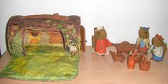 woodsey squirrel fisher price vintage toy. $35.00, via Etsy.