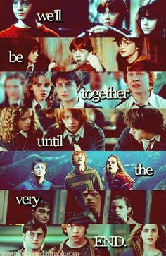 Harry Potter, The Golden Trio Harry Potter Puns, Harry Potter Universal, Harry Potter World, Harry Potter Friendship Quotes, Draco, Hogwarts, Slytherin, Golden Trio, Harry Potter Pictures