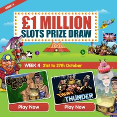 Prize Draw, Cash Prize, Free Entry, Bingo Games, Casino Games, Slot, Coin Toss