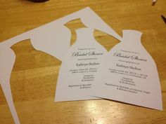 How To: DIY Bridal Shower Invitations