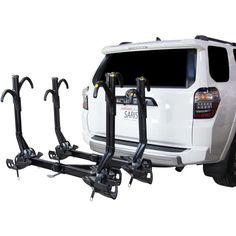 Saris SuperClamp EX Hitch Bike Rack - 4-Bike 2 Receiver Black 4 Bike Hitch Rack, Best Bike Rack, Mtb Pedals, Road Bike Shoes, Mountain Bike Helmets, Trek Bikes, Harley Davidson Road Glide, Cycling Accessories, Bike Handlebars